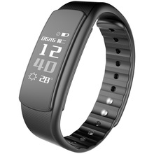 i6HR Sports activities Good Bracelet Wristband Health Tracker Android Bracelet Smartband Coronary heart price Monitor Name Message Remind