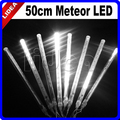 50CM Meteor Rain Shower Party Garden Xmas Navidad Fairy String LED Garland Outdoor Decoration Christmas Wedding Light CN C-28