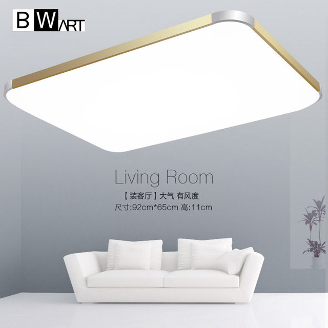 BWART moderne Hohe helligkeit led decke kronleuchter für wohnzimmer ...