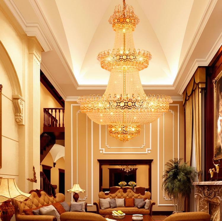 Šiuolaikinės liustra LED lempos, krištolinės sietynės, - Vidinis apšvietimas - Nuotrauka 4