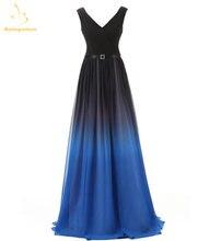 Женское шифоновое платье на шнуровке bejoy длинное черно красное