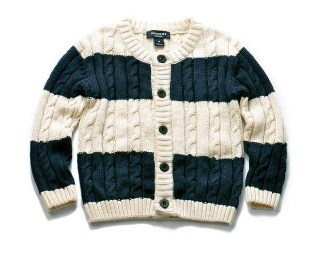 93038 Wholesale 2016 New Autunm Boys Sweaters Striped Fashion Toddler Boys Cardigans Children Clothes Supplier Lot