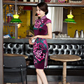 2016 Real Qipao Chinese Wedding Dress In The Long Section Of New Boutique Ladies Dress Cheongsam Velvet Wholesale Daily Party