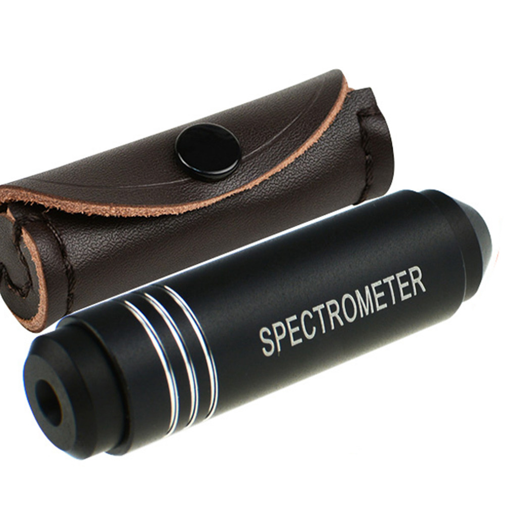 Pocket Gemological Spectroscope Diffraction 18mm In Diameter Medium Size Jeweller Gem Stone Tool professional gemological for distinguishing real dimaond selector ii
