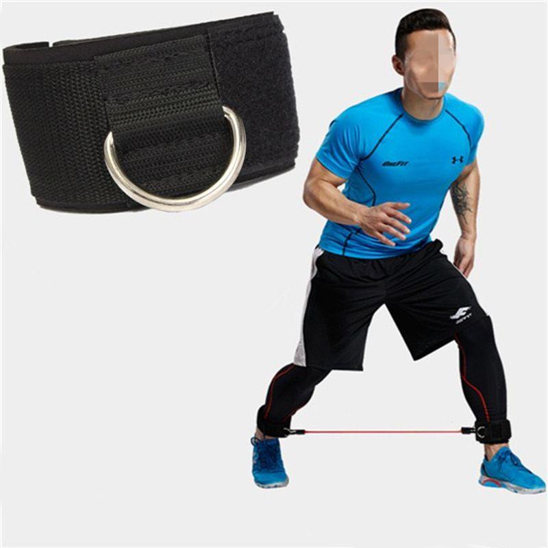 İdman Fiziki Təlimi Təchizatı D-ring Ankle Anchor kayış - Fitness və bodibildinq - Fotoqrafiya 3