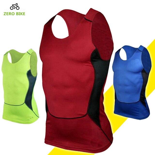 2017 ZERO BIKE Men's Quick dry Breathable Cycling Vest Outdoor Sports Fitness Underwear Jersey ciclismo S-XXXL