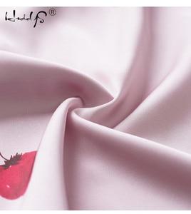 Image 3 - زائد حجم الصيف 2018 أزياء النساء منامة بدوره إلى أسفل طوق ملابس خاصة 2 اثنين من قطعة مجموعة قميص + السراويل الكرتون عارضة بيجامة مجموعات