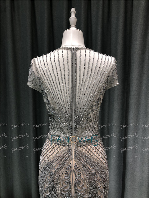 Luxury Mermaid Evening Dress