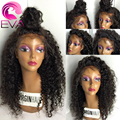 7A Brazilian Kinky Curly Full Lace Wig Glueless Lace Front Human Hair Wigs For Black Women Virgin Unprocess Afro Kinky Curly Wig