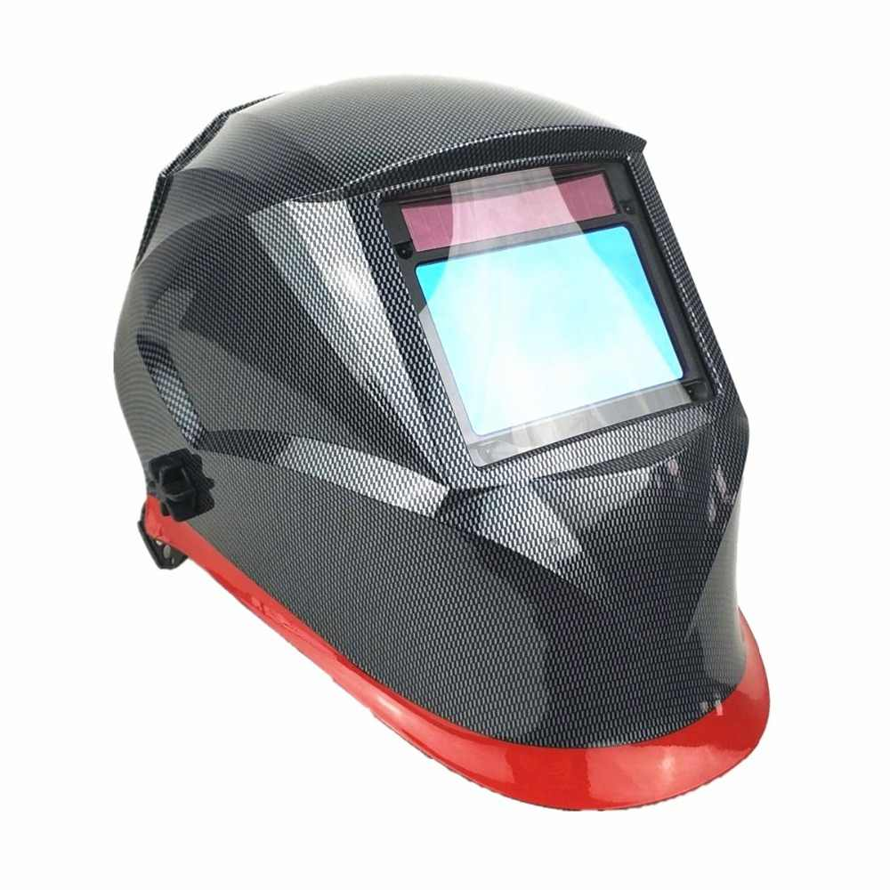 Сварочный шлем высшего оптического класса 1111 полный оттенок 3-13 Область обзора 100x65 мм Сварочная маска