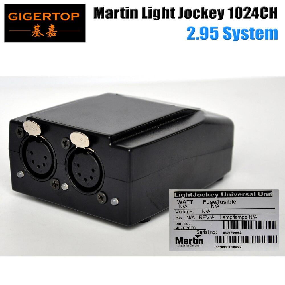 TIPTOP Hot Selling 5 Pin USB DMX Martin Lightjockey Software Interface DMX USB Controller 1024 Channels