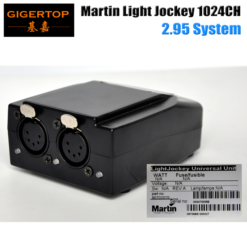 TIPTOP Hot Selling 5 Pin USB DMX Martin Lightjockey Software Interface DMX USB Controller 1024 Channels Stage Lighting Console freeshipping martin light jockey usb 1024 dmx 512 dj controller martin lightjockey 3 pin 1024 usb dmx controller led stage light