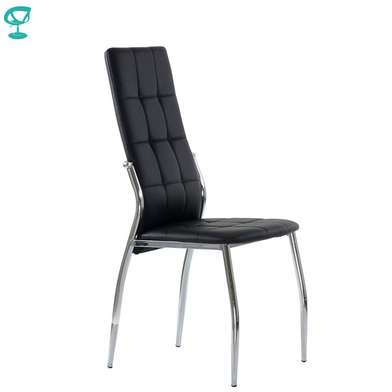 95309 Barneo S-68 Eco-leather Kitchen Furniture Breakfast Interior Stool Chair For Dining Black Free Shipping In Russia