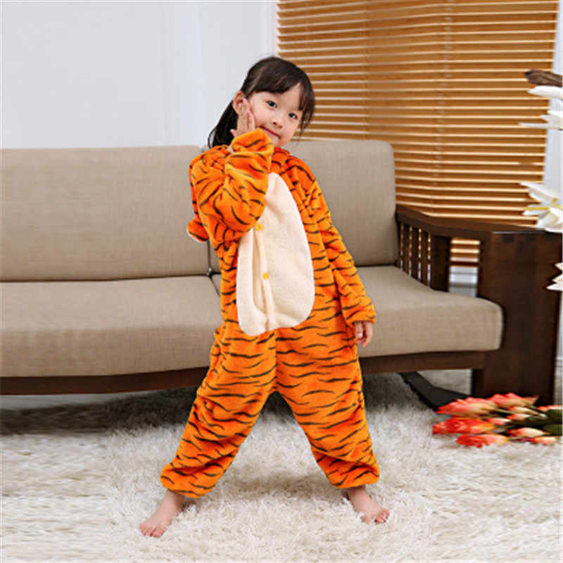 87fc617e2 Detail Feedback Questions about Yellow tiger pajamas cat boys ...