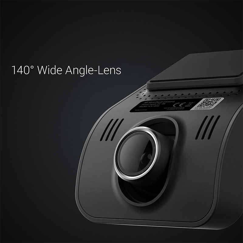 يي كاميرا صغيرة داش 1080p FHD لوحة القيادة مسجل فيديو واي فاي سيارة كاميرا مع عدسة واسعة زاوية 140 درجة للرؤية الليلية G-الاستشعار