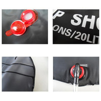 High Quality 20L Outdoor Portable Water Bath Bag Camping Hiking Shower Bag High Quality Travel Supplies