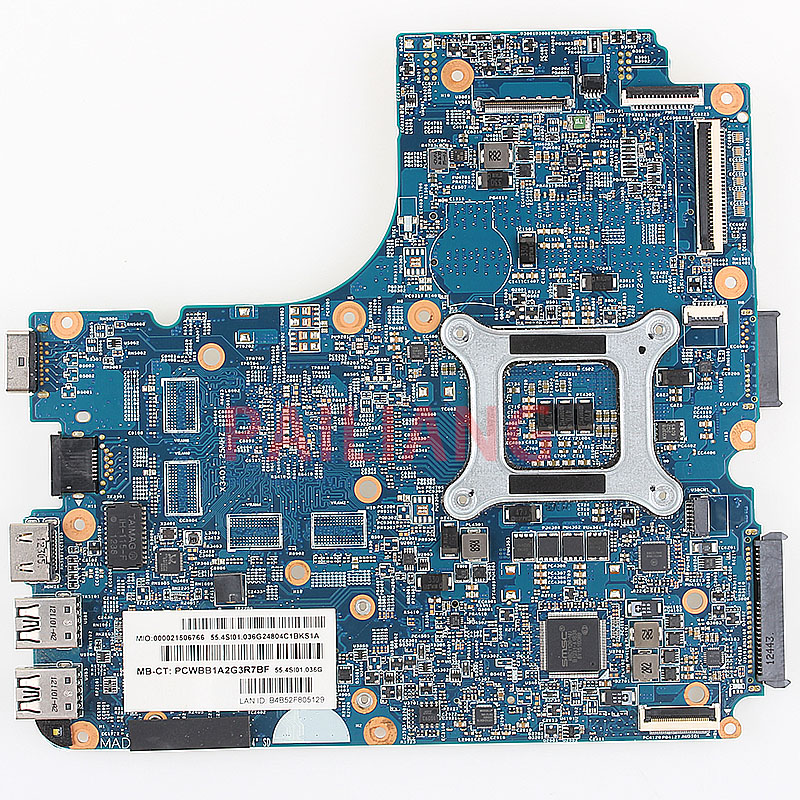 Laptop motherboard for HP 4540S 4440S PC Laptop Mainboard 683495-501  683495-001 683495-601 HM76 full tesed DDR3