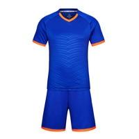 LIDONG New Men Soccer Jerseys 2018 Football Uniforms Kids Voetbal Trainingspakken Maillot De Foot Custom Name