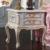 Reproducción de muebles italiano-madera maciza hancraft dorado hoja bedstand