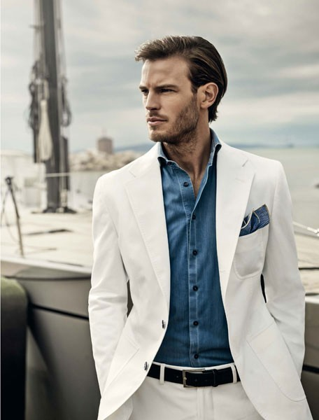 Collection Mens White Blazer Pictures - Reikian