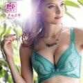 De acordo com a ms Mary 2015 new sexy pequeno rendas profunda v bra Um copo molde cueca YK4118 frívolo