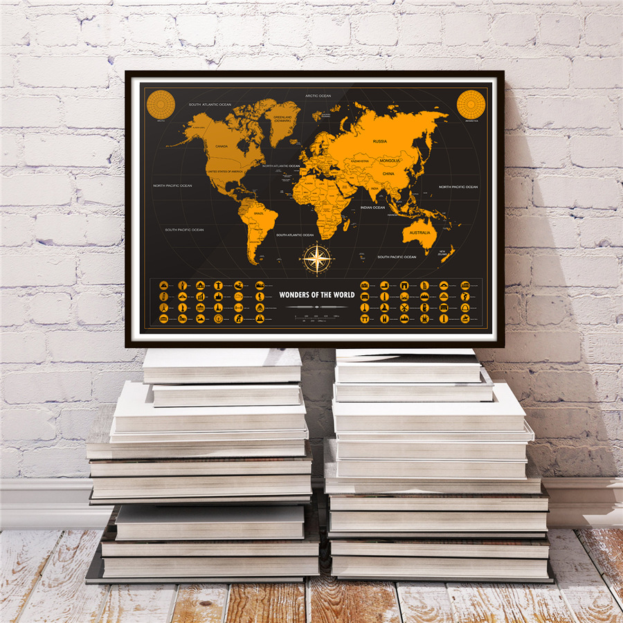 World Map Sticker 1