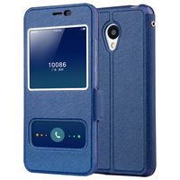Meizu M5 Case High Quality View Window PU Leather Case For Meizu M5 Meilan5 Phone Cell