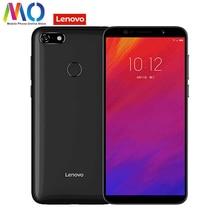 Lenovo A5 Глобальный Версия L18021 смартфон разблокирована 4G FDD-LTE B20 группа отпечаток пальца OTA 5,45 дюйма 4 ядра Android мобильного телефона