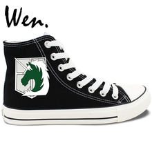 Anime Attack on Titan Themed Casual Shoes
