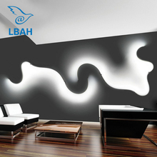 Postmodern contracted creative led wall lamp decoration of bedroom  sitting room corridor lamps and lanterns