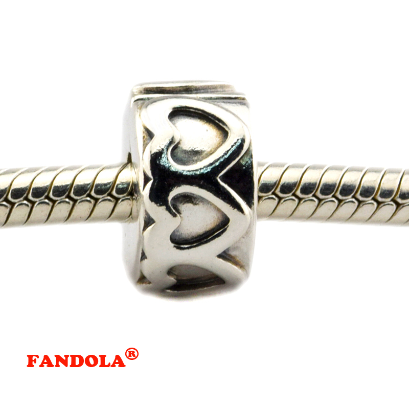Beads Fine Jewelry Fits Pandora Charms Silver 925 Original Bracelets Bangles Sweet Home Charm With Red Enamel Beads For Jewelry Making Ckk Bead Up-To-Date Styling