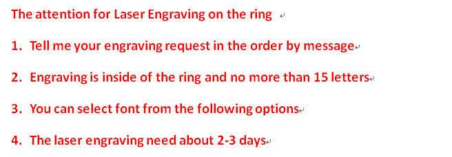 Super oferta rozmiar 3-14 Titanium steel Womanand obrączki męskie, para pierścień, pierścień zespołu, może grawerowanie (cena jest za 1 sztuk)
