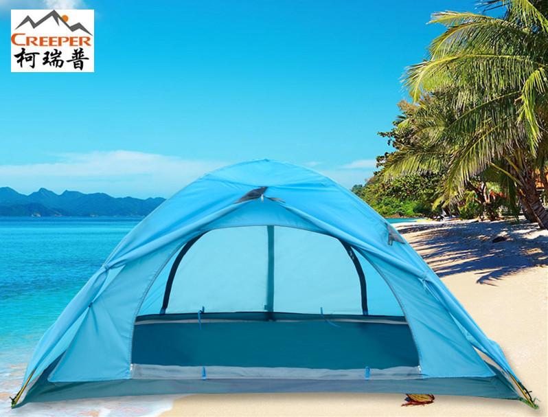 Creeper Outdoor Supplies Climbing Aluminum Pole Tent 2 Person Double-Layer Waterproof Beach 4 Seasons  sc 1 st  AliExpress.com & Online Get Cheap Camping Tent 4 Person 4 Season -Aliexpress.com ...