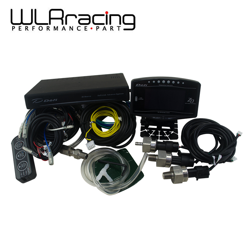 WLRING STORE- DF Style Advance ZD 10 in 1 DF link Auto Sports Package OLED Digital tachometer Full Kit BF CR C2 Meter Auto Gauge