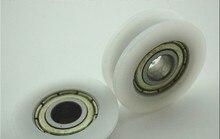 10 pcs V625ZZ V Groove Sealed Ball Bearings V groove 6x 22 x 6mm 7mm deep NEW