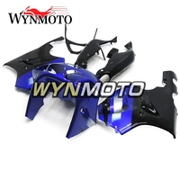 Full ABS Plastics Fairings For Kawasaki ZX7R ZX 7R 1996 2003 97 98 99 00 01 02 03 Motorcycle Fairing Kit Blue Black Bodywork