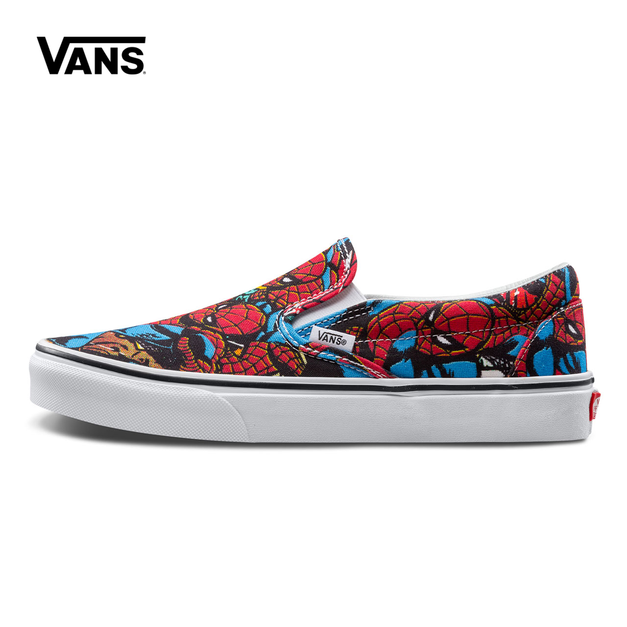 Original New Arrival Vans X Marvel Men's & Women's Classic Slip On Low top Skateboarding Shoes Sneakers Canvas VN0A38F79H7
