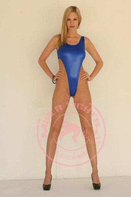 naked woman at pool