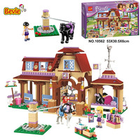 Bevle 10562 Bela Friends Series Heartlake Riding Club Model Building Block Bricks Compatible With LEPIN Friends