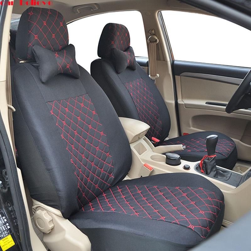 Car Believe Auto Leather car seat cover For bmw e46 e36 e39 accessories e90 x5 e53 f11 e60 f30 x3 e83 covers for vehicle seats emission control secondary air pump for e46 e53 e60 e63 e64 e83 x3 x5 m5 m6 m54 11727571589