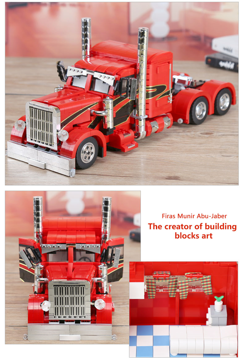 XINGBAO XB-03012 Red Monster Building Block 35