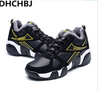 Brand Winter Fur Warm Snow Boots For Men Sneakers Casual Shoes Male Adult Krasovki Breathable Zapatillas Deportivas High Quality