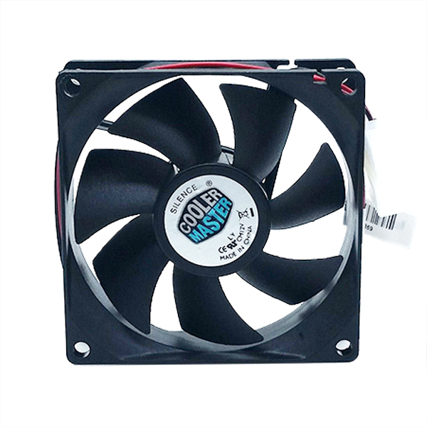 PC Cooler master Computer Case super silent 8025s 8CM 80mm 80x25mm DC 12V black 4Pin Cooling Motor Fan ночная сорочка 2 штуки quelle arizona 464118