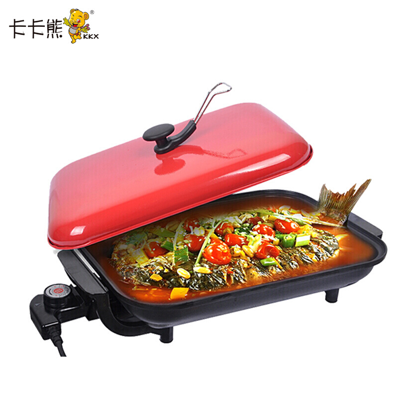 Electric Oven Non-stick Grill & Griddle Meat Baking Pan Barbecue Professional Fish Grilled Cooking Tool Easy To CleanElectric Oven Non-stick Grill & Griddle Meat Baking Pan Barbecue Professional Fish Grilled Cooking Tool Easy To Clean