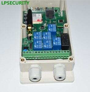 Image 4 - LPSECURITY 2G 4G GSM RELAY GSM صندوق تحكم وحدة تحكم عن بعد للباب التلقائي بوابة مضخة آلة لتخزين مياه الآبار سخان في الهواء الطلق