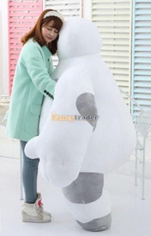 Fancytrader 59\'\' 150cm Biggest Giant Plush Stuffed Baymax Big Hero 6 Stuffed Toys, Free Shipping FT90511 (2)