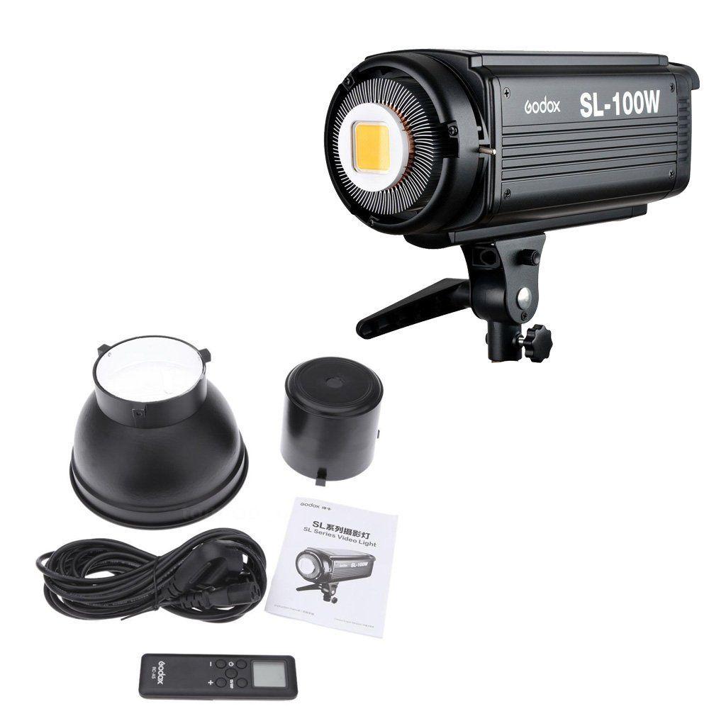 Godox SL-100W LED видео светлина 100W LED крушки - Камера и снимка - Снимка 6