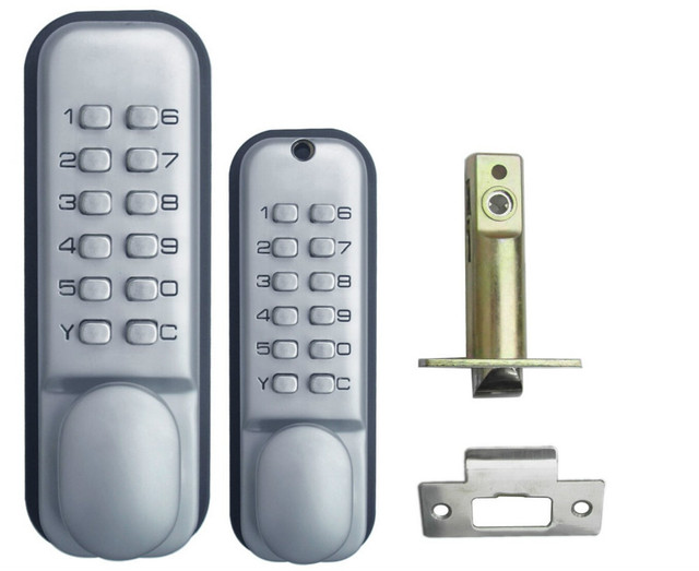 Exceptionnel Mechanical Door Locks All Weather Double Keypad Mechanical Keyless Door Lock  The 2th Generation Of