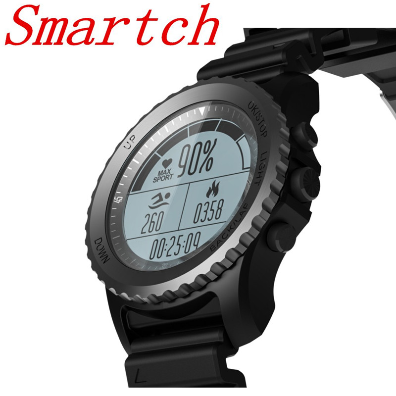 Smartch New S968 Waterproof IP68 Smart Watch Bluetooth Sport watch Support GPS Heart Rate Monitor Multi-sport Smartwatch new f69 s200 air sports smart watch waterproof ip68 heart rate monitor pedometer gps bluetooth 4 0 s968 smartwatch for men watch