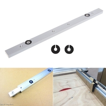 лучшая цена 300MM Aluminium Alloy Rail Miter Bar Slider Table Saw Gauge Rod Woodworking Tool LS'D Tool qiang